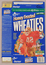 RONNIE LOTT 49ERS WHEATIES CEREAL BOX