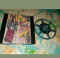CAPTAIN AMERICA  AND CAPTAIN MARVEL 8MM Rare Sound Trailers 300ft Reel