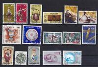 Europa CEPT Kunsthandwerk gestempelt Jahrgang 1976 siehe Bilder