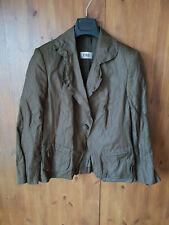 JOBIS BLAZER Dark Brown Ladies Jacket UK 12 / 40 - VGC