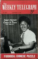 Il Settimanale Telegraph N.4665 Piano Prodigy Arriva Alla Città 22 Sept 1951