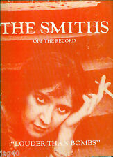 The SMITHS song book Louder than Bombs Off the Record BAND SCORE Guitar Tab Bass