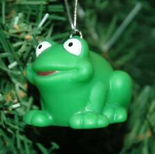 Rubber Froggie, Frog Christmas Ornament