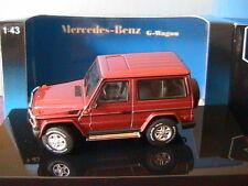 MERCEDES BENZ G KLASSE SWB PURPLE RED W463 1994 AUTOART 56102 1/43 G-WAGON