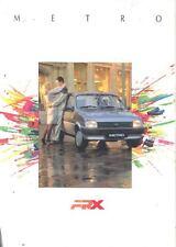 2000 Austin Metro ARX Sales Brochure French Belgium  wl8991-E9YD2K