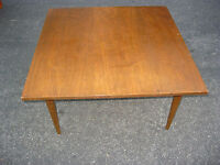 Vintage Danish Modern Coffee Table Mid Century Modern