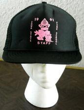 IOWA STATE Fire School Staff trucker cap 1991 cap