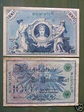 Reichsbanknote 100 Mark, 1908
