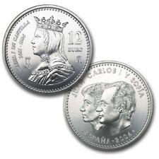 2004 - ESPAÑA - 12 EUROS DE PLATA, V Centenario de Isabel I de Castilla