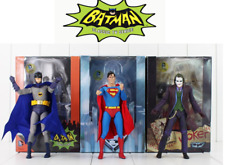 FIGURA  SUPER MAN / BATMAN / JOKER Neca The Animated TV Classic Series  80's