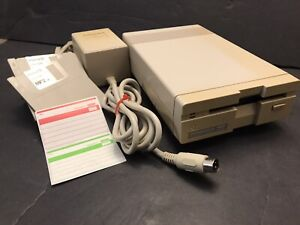 COMMODORE 1581 3.5 FLOPPY DISK DRIVE JIFFYDOS POWER SUPPLY TESTED WORKING #1