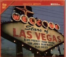STARS OF LAS VEGAS - VARIOUS ARTISTS - 4 CD SET - NEW - SEALED - FREE SHIPPING