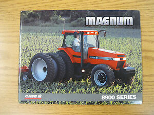 Case IH 8900-series Magnum tractor sales brochure #AE 168086