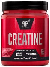 Pure Creatine Monohydrate Powder Unflavored 216g | Strength Power Muscle Mass