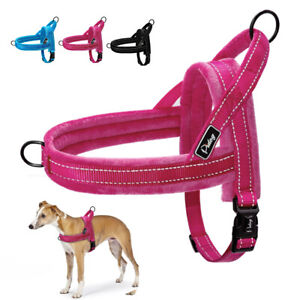 Reflective No Pull Dog Harness Front Leading Fleece Pet Vest for Small Large Dog