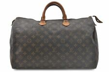 Authentic Louis Vuitton Monogram Speedy 40 Hand Bag M41522 LV 73842