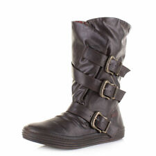 Blowfish Women's Synthetic Leather Mid-Calf Boots