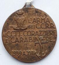 MEDAGLIA CARABINIERI REALI AI CACCIATORPEDINIERE CORAZZIERE E CARABINIERE medal