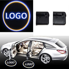 For Volvo LED Logo Wireless Door Welcome Projector Shadow Courtesy Light 2pcs