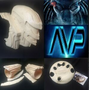 Predator Cosplay AvP Backpack and Gauntlets Costume Prop Replicas :