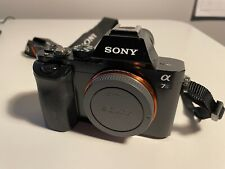 Sony Alpha A7S12.2MP WiFi Camera - Black (Body Only) + extra battery + 128GB SD