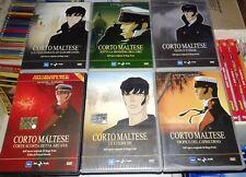 CORTO MALTESE HUGO PRATT- SERIE 6 DVD COMPLETA