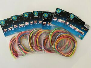 10 Pack Coloured Play Strings Scoubidous Scooby Do Scoobies Various Colours New