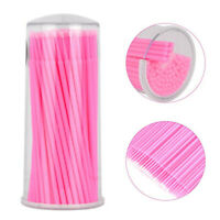 100pcs Micro Brushes Swabs Tattoo Microblading Disposable Applicator