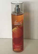 NEW! BATH & BODY WORKS FINE FRAGRANCE BODY SPLASH MIST SPRAY - SENSUAL AMBER