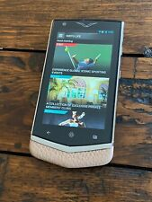 Genuine Vertu Constellation V Android Luxury Phone in CAPPUCCINO Must have RARE