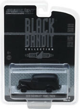 GREENLIGHT BLACK BANDIT SERIES 18 1939 CHEVY PANEL TRUCK 1/64 BLACK 27930 F