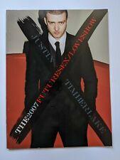 Justin Timberlake 2007 Futuresex/Loveshow Tour Book / Program + Official Bag