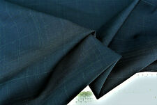 Lana Pura tono negro con una tonalidad marrón Deluxe sastrería fina hecha en Italia E117