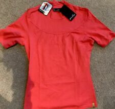 BNWT! Women's Girls Oakley Short Sleeve Polo Sports T Shirt Sweat Large L