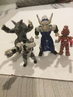 Vintage Mighty Morphin Power Rangers Villains By Bandai, Lot of 4, 1994