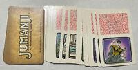 Game Parts Pieces Jumanji 1995 Milton Bradley 30 Card Set