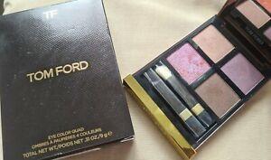 Tom Ford Eyeshadow Quad 25 Pretty Baby swatched