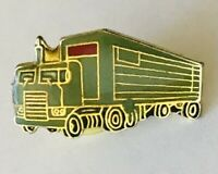 Freight Truck Pin Badge Long Haul Rare Vintage (D6)