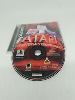 Atari Anniversary Edition Redux PlayStation PS1 Black Label Game Complete