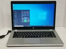 HP EliteBook Folio 9470m Laptop i5 1.9GHz 12GB 256GB SSD WebCam Backlit Sp1