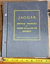 Vintage Jaguar Mark Iv and Xk 120 Models Service manual good condition