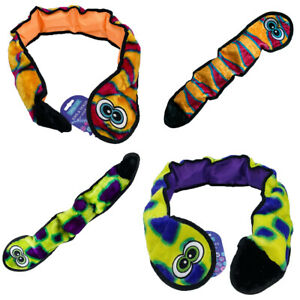 Hem and Boo plush Dog Toy Snake Super Squeaky Canvas Strong Comforter