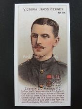 No.114 CAPTAIN C.J. MELLISS Victoria Cross Heroes 101-125 REPRO Taddy 1904