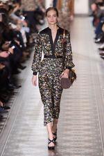 Tory Burch Promenade Tunic Dress 12 XL $550 Silk Twill Runway Floral