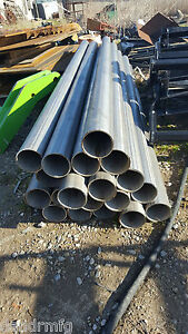 """40 PIECES 304 STAINLESS STEEL 4"""" O.D. x 96"""" LONG x 1/8"""" THICK WALL ROUND TUBE"""
