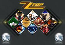 Zz Top Rock Band 13x19 Poster Super Gloss Art Print