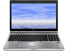 """HP Elitebook 8560p  i5-2520 2.5 GHz, 8GB, 120GB  SSD HD  15.6""""  Win 7/10"""