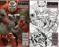 Spawn #224 Color & Sketch Variant Mexican Edition - Todd McFarlane!