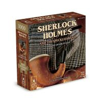 Sherlock Holmes and the Speckled Band 1000 Piece Jigsaw Puzzle (PLG7225)