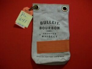 BRAND NEW WITH TAG #1 BULLEIT BOURBON FRONTIER WHISKY SPECIAL EDITION LEWIS BAG
